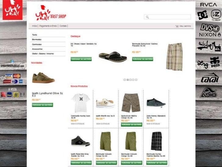 Galeria exemplos MercadoShops