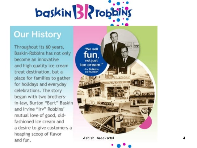 baskin robbins marketing research case study Dunkin doughnuts and baskin robins case study   that the company's global management assess the cultural differences in each market  baskin-robbins .