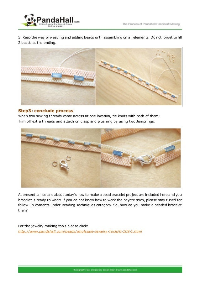 Bracelet making instructions how to make a bead bracelet out of swaro…
