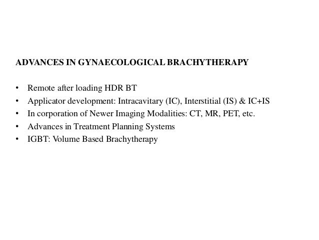 image guided brachytherapy carcinoma cervix Slide 3