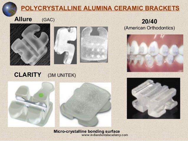 3m Unitek Clarity Ceramic Brackets Brackets Unitek