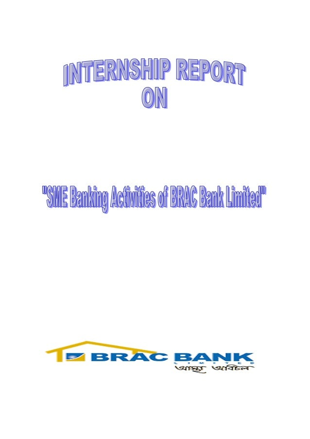 Brac sme banking activitis  cover page