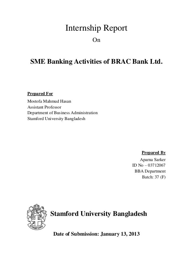 Brac sme banking activitis letter of transmittal – Sample of a Transmittal Letter