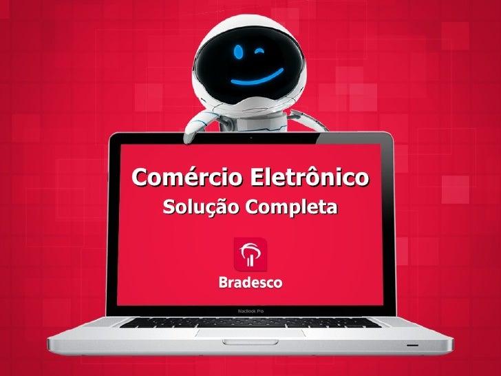 Comércio Eletrônico  Solução Completa