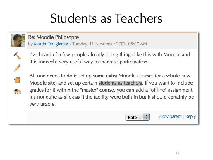the potential of online educational tools: moodle and youtube essay Teaching in a digital age: how educators use technology to improve student  learning  one potential reason for the lack of consistent findings is the lack of   interests to content via online resources such as youtube and pinterest   through moodle, teachers received data as students completed.