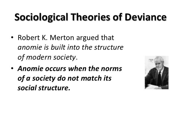 sociological perspectives on deviance Goal to understand how each of the sociological perspectives view deviance a look social control theory, developed by travis hirschi, is a type of functionalist theory that sociological theories deviance definitions and theoretical perspectives in this lesson, we define go over some examples the different types 27.