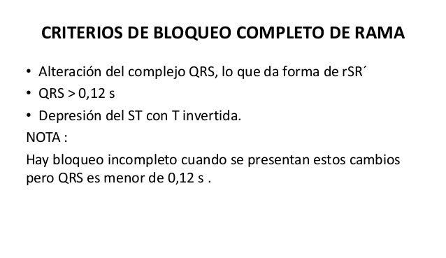 BLOQUEO DE RAMA IZQUIERDA Se ven los mismo cambios del bloqueo de rama pero en V4 V5 V6 DI aVL aVF