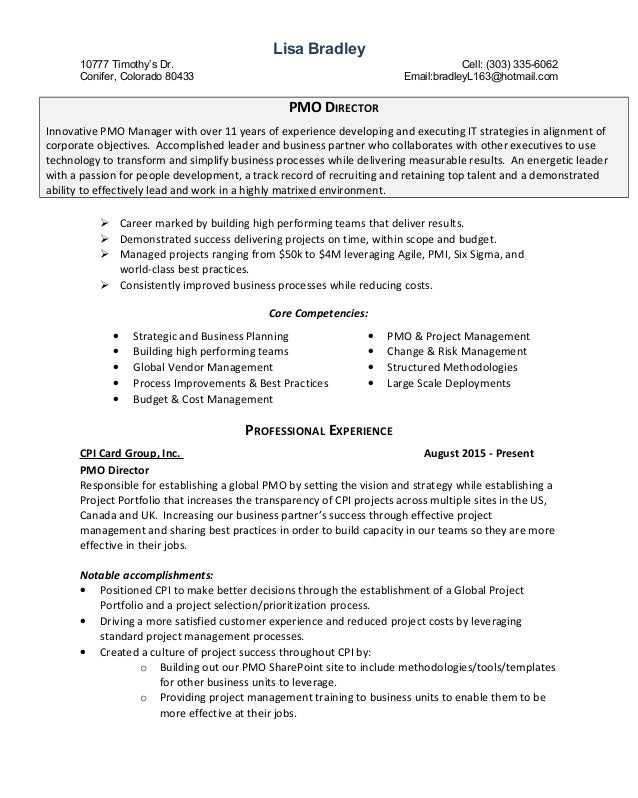 bradley resume revised