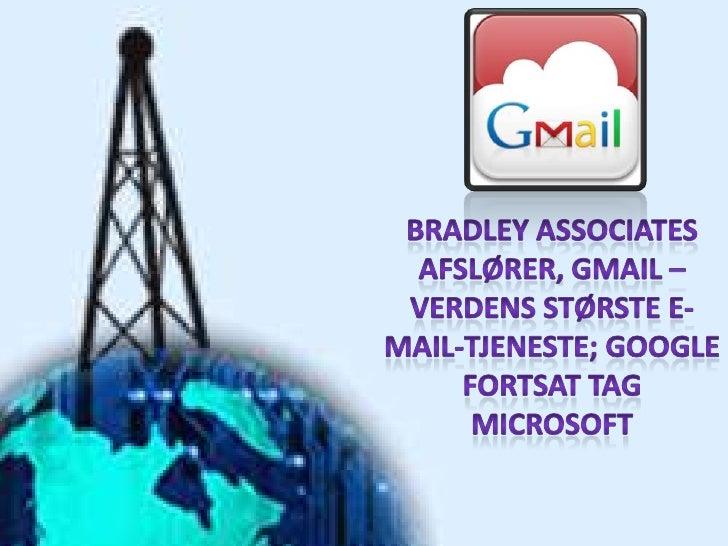Google har overgået Microsoft i webbrowsere–og nu e-mail tjenester. Det er klart, at de toøverste tech selskaber i USA i ø...