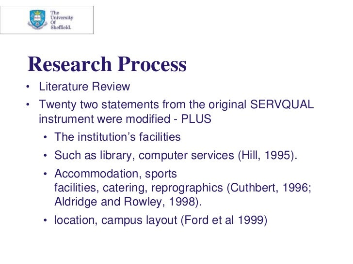 Research of related literature in catering services