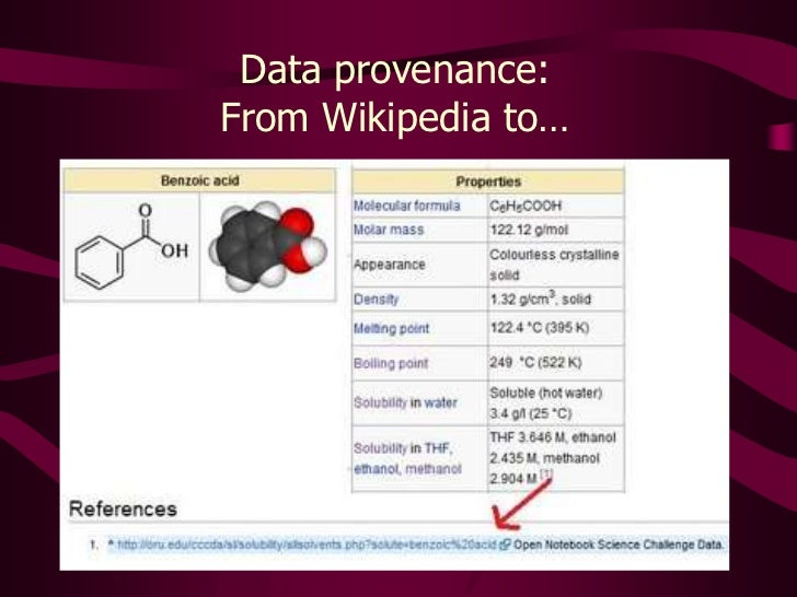 Data provenance: <br />From Wikipedia to…<br />