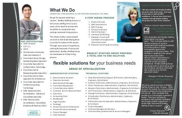Bradley Staffing Brochure