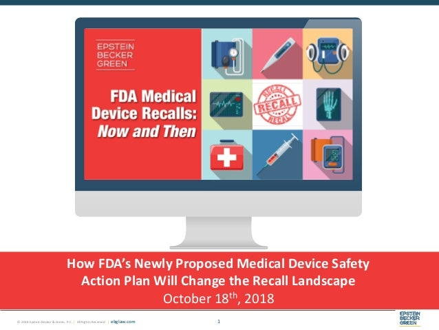FDA Medical Device Recalls: Now and Then