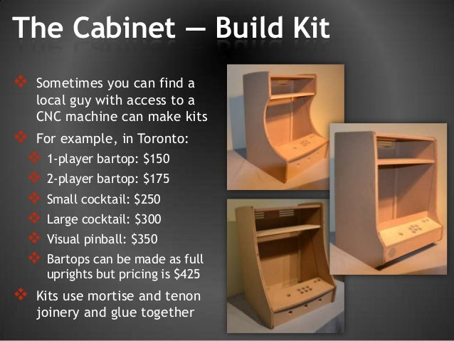 Brad's MAME arcade story - Build your own vintage arcade!