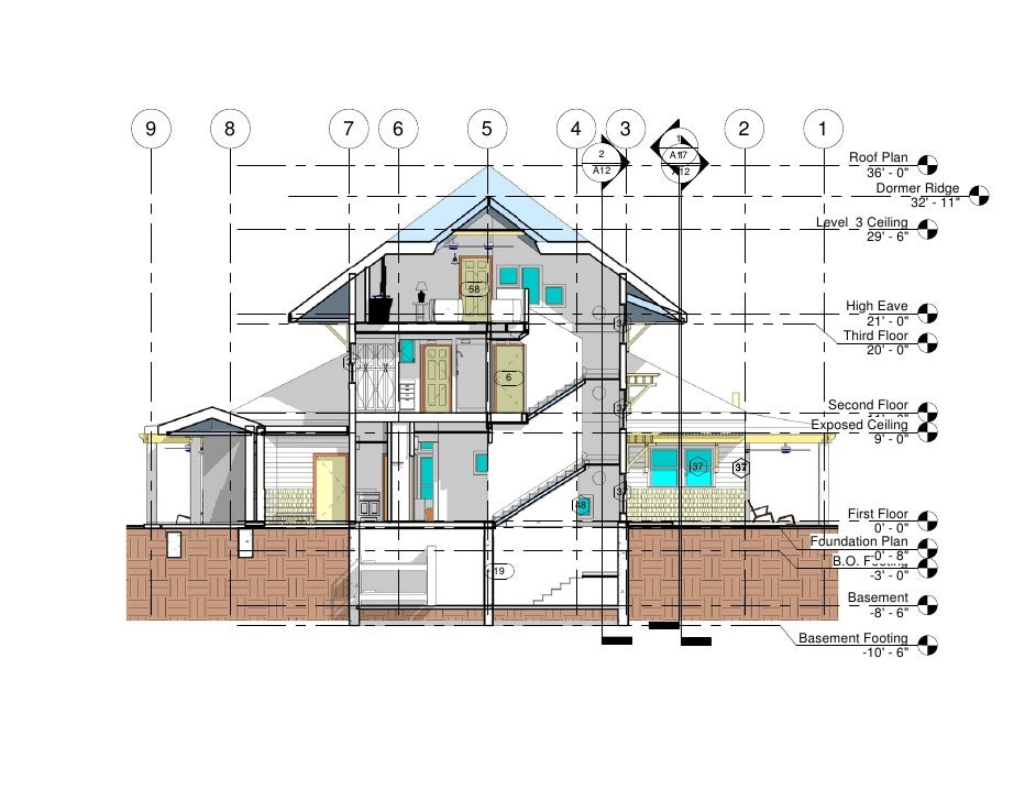 Inspiring Section Plan Of House Contemporary - Best Image - orai.us