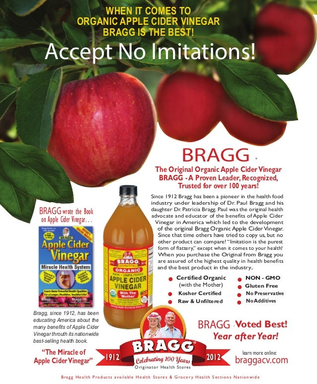 Bragg Apple Cider Vinegar Book