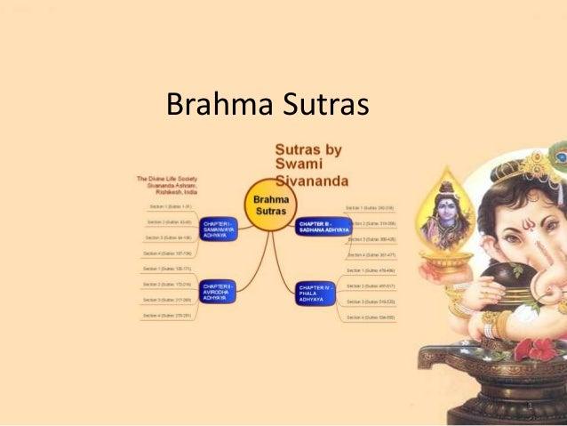 Brahma Sutras1