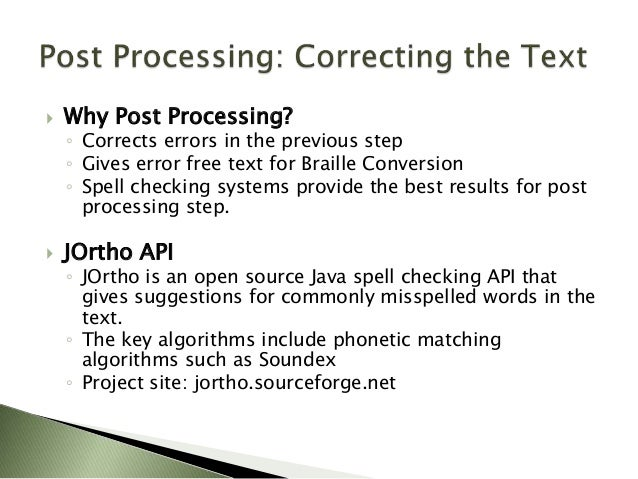 BrailleOCR: An Open Source Document to Braille Converter