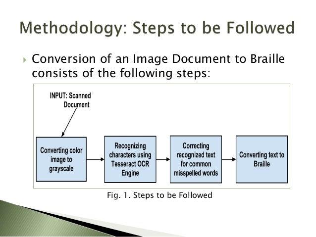 Brailleocr An Open Source Document To Braille Converter
