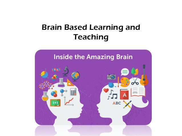 an understanding of the brain based learning Understanding a brain-based approach to learning and teaching educators who become aware of recent research on how the brain learns will gain exciting ideas.