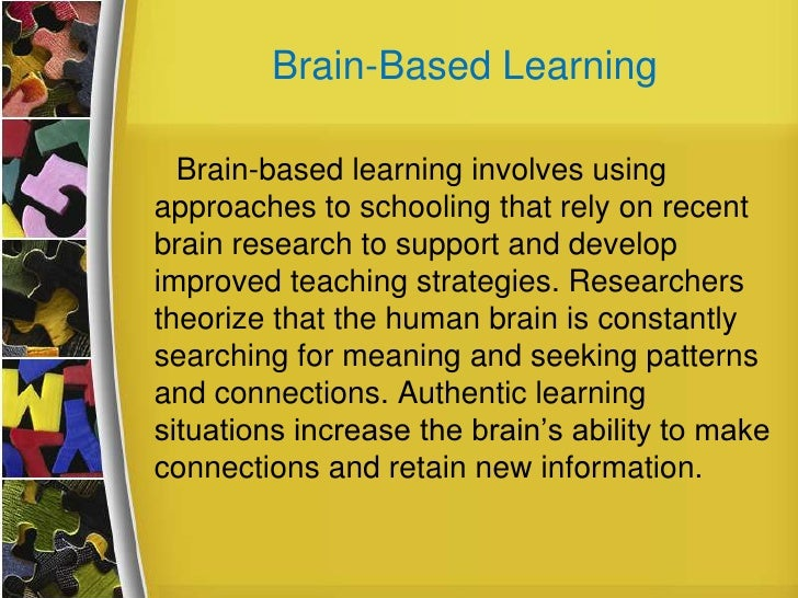 research papers on brain-based learning