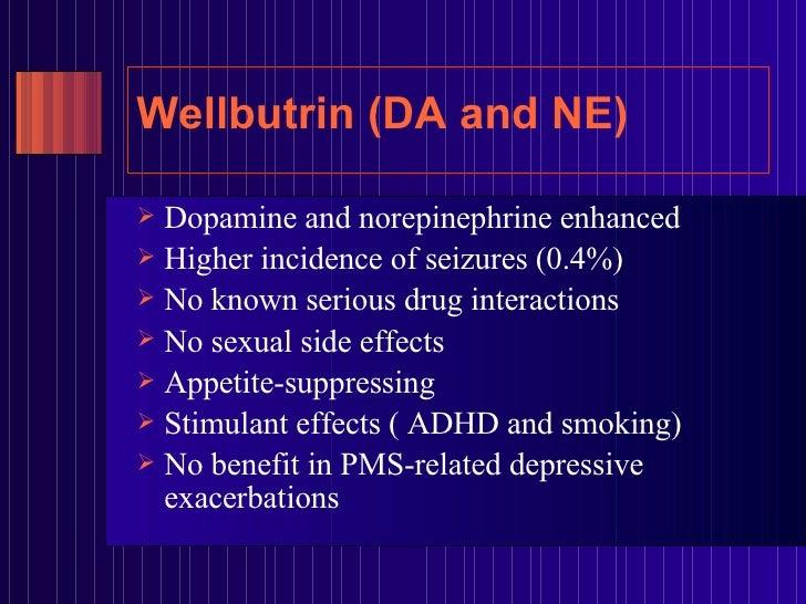 Wellbutrin and pms