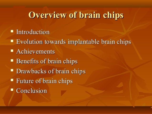 Brain chips Slide 2
