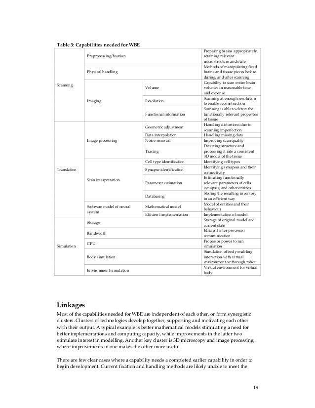 Brain emulation-roadmap-report