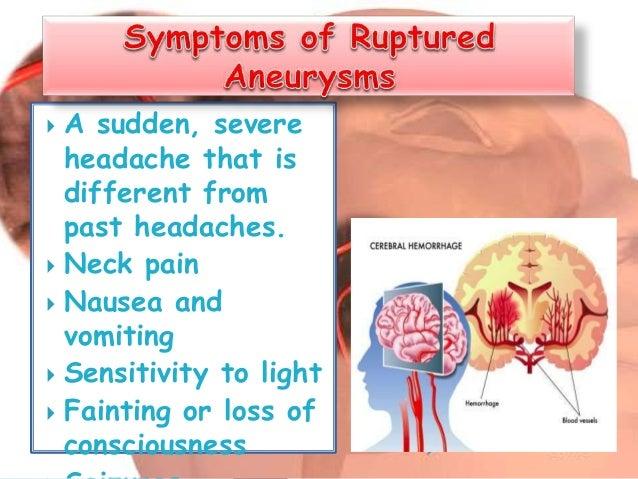 brain aneurysm, Cephalic Vein