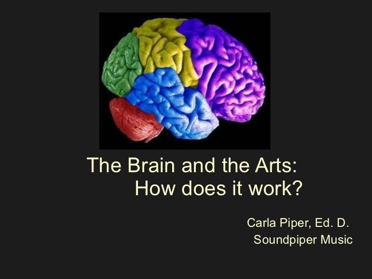 The Brain and the Arts:  How does it work? Carla Piper, Ed. D.  Soundpiper Music
