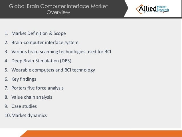 Global Brain Computer Interface Market Insights, Forecast to 2025