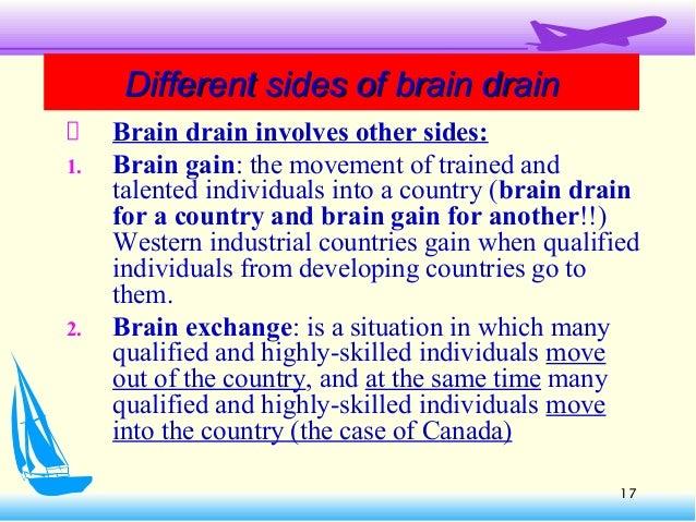 Brain drain is better than brain in drain essay