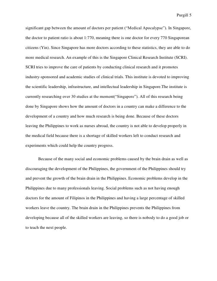 short essay about ofw