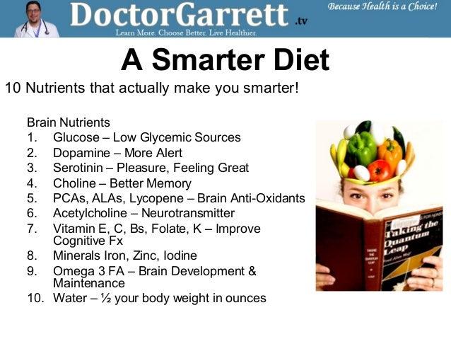 Natural Vitamins That Make You Smarter