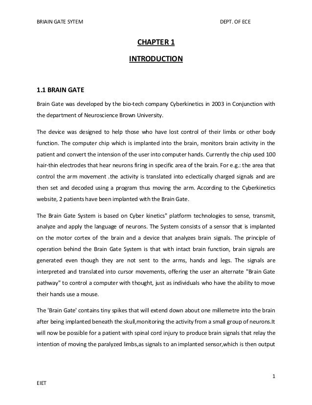 Braingate pdf system on