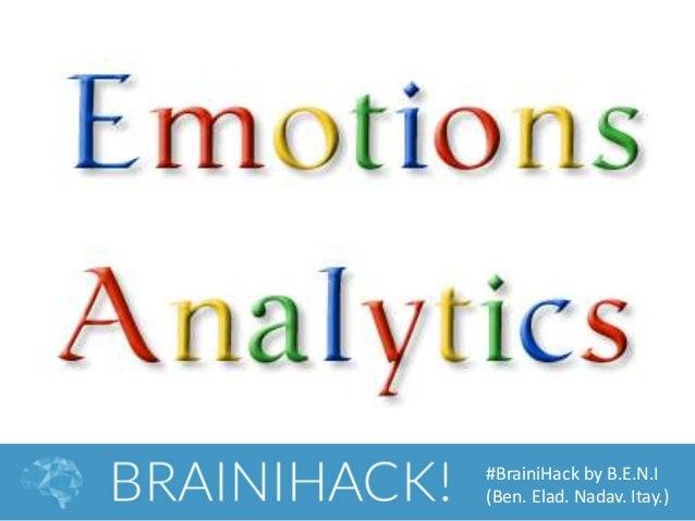 #BrainiHack by B.E.N.I (Ben. Elad. Nadav. Itay.)