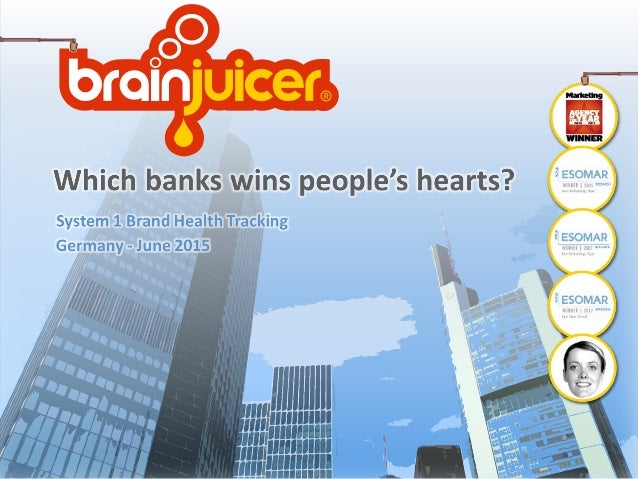Which Banks Win People's Hearts? Slide 1
