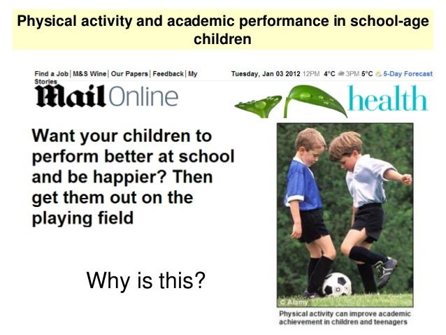 Physical activity and academic performance in school-age children Nature neuroscience reviews Vol 9. 2008.