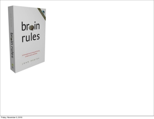 brain rules exercise