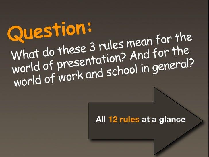 John Medina's 12 Brain rules                  >