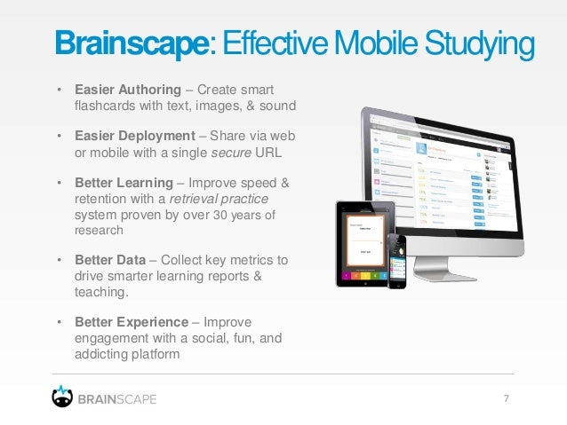 The Future of Studying - with Brainscape's smart flashcards