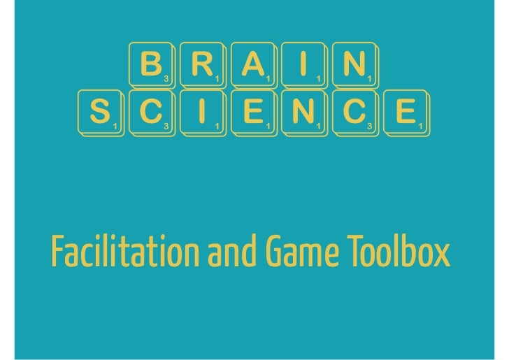 Brain ScienceFacilitation and Game Toolbox