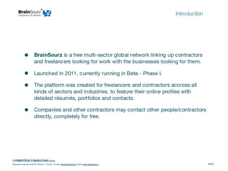 Brain Sourz Presentation 2012 Slide 2