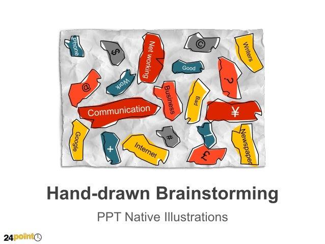 Hand-drawn Brainstorming