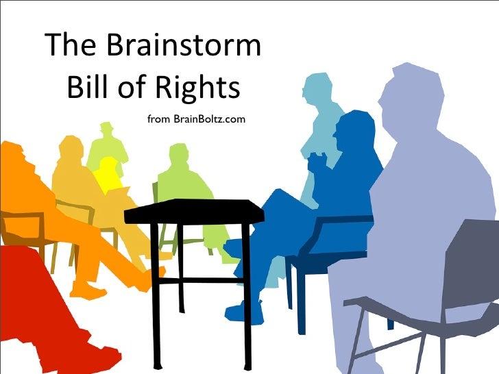 TheBrainstorm  BillofRights        from BrainBoltz.com