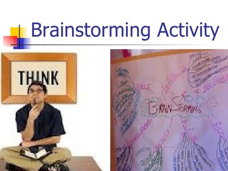 Brainstorming Slide 3