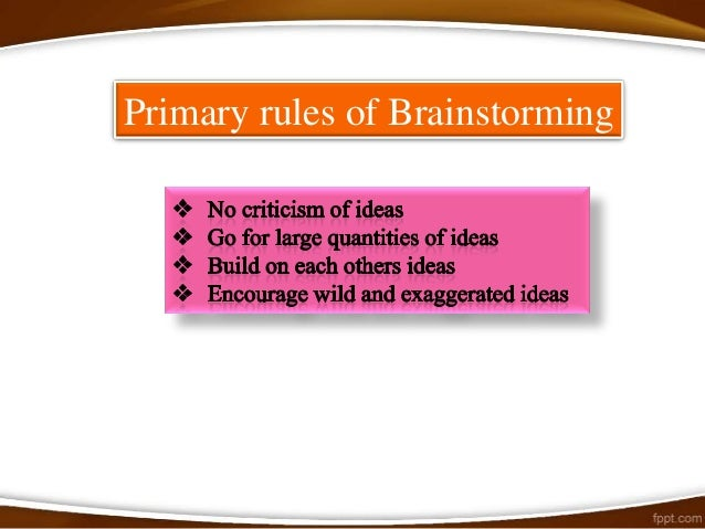 Even though traditional brainstorming can bring benefits to thewhole group, it can sometimes reduce individual recognition...