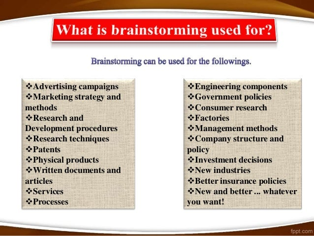Risks from brainstorming and                how to overcome themThe risk of losing your faith in brainstorming because of ...