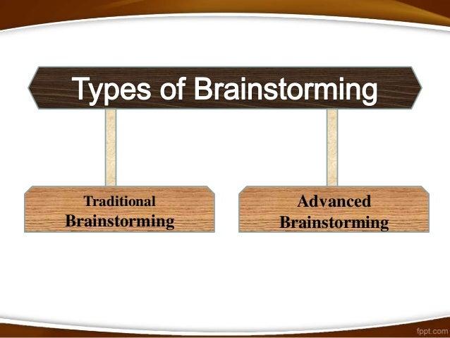 Primary rules of Brainstorming