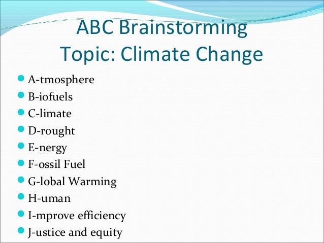 Short summary of global warming